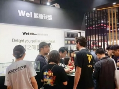 Wel鲸鱼轻烟亮相2019深圳国际电子烟展,外观口感等广受用户好评!