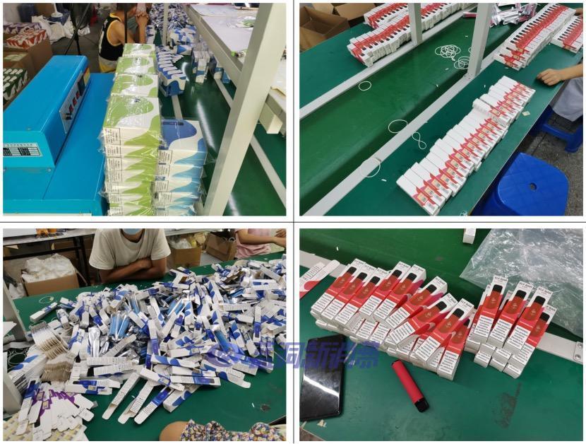 ELFBAR公布打假成果:累计查处十个制假窝点,扣押超过15万支假冒产品